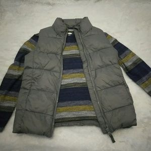 Old Navy| NWT Gray Boys Puffer Vest